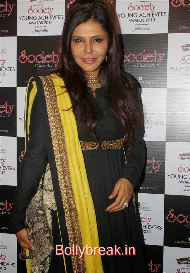 Nisha Jamwal, Hot Babes at Society Young Achievers Awards 2013
