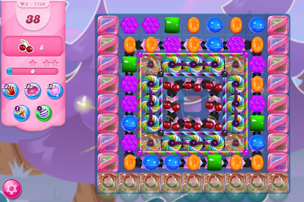 Candy Crush Saga level 7739