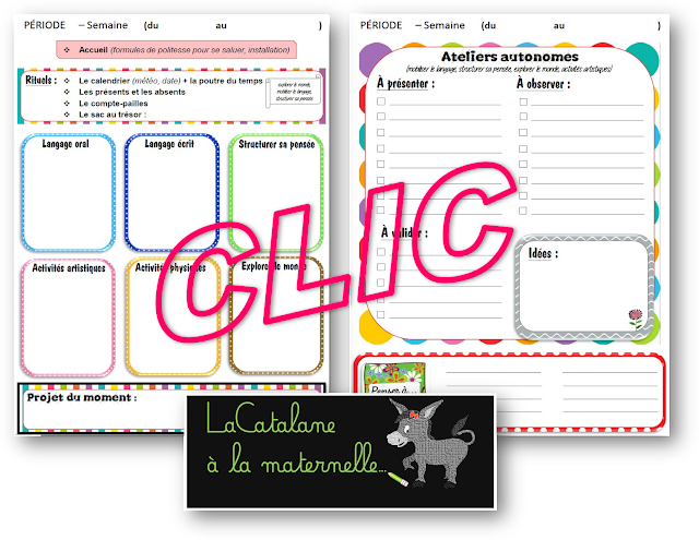Cahier journal version couleurs (LaCatalane)