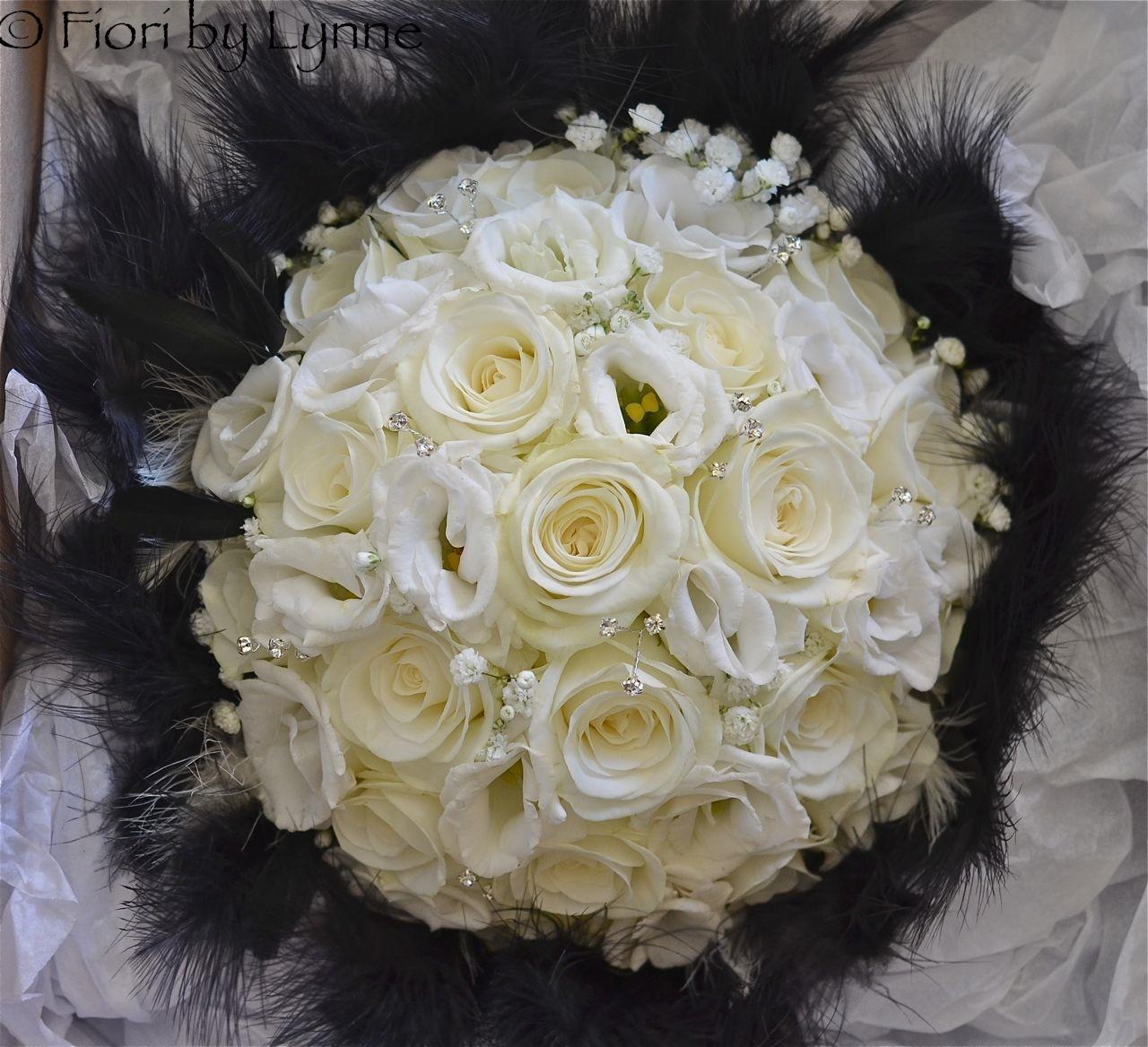 Wedding Flowers Blog Tricias Black And White Themed Wedding East