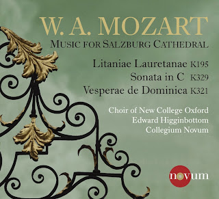 Mozart - Music for Salzburg Cathedral - New College, Oxford/Higginbottom - Novum 1388