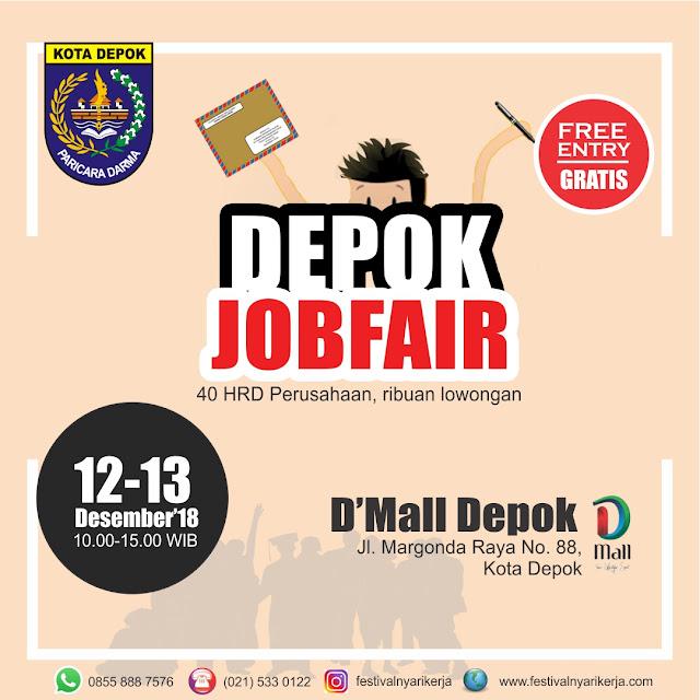 Job Fair Depok GRATIS