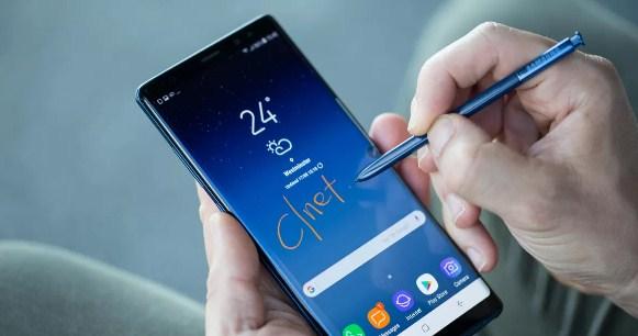 Cara Screenshot layar Hp Samsung Galaxy Note 8