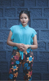 Attire of Mizo Women