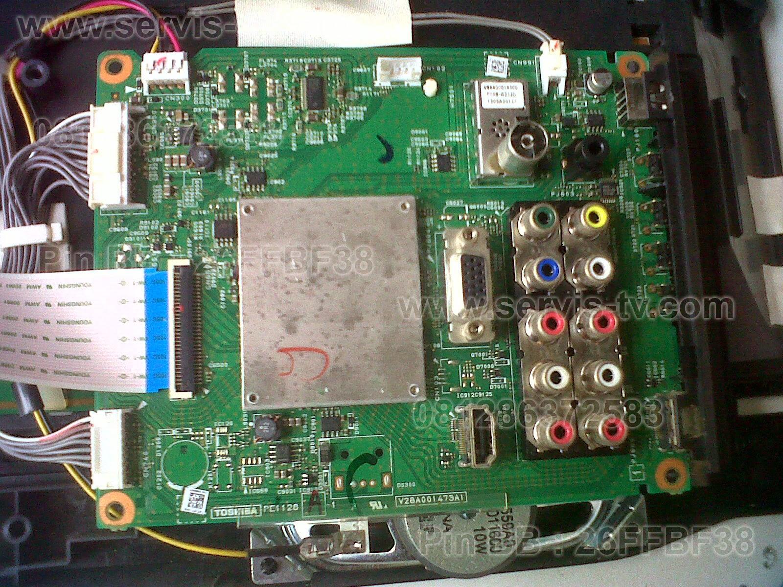 Mainboard Toshiba 32P3200VJ MB