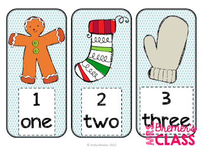 Gingerbread Man math center activities for Kindergarten. Includes practice with addition, measurement with non-standard units, ten frames, and more!
