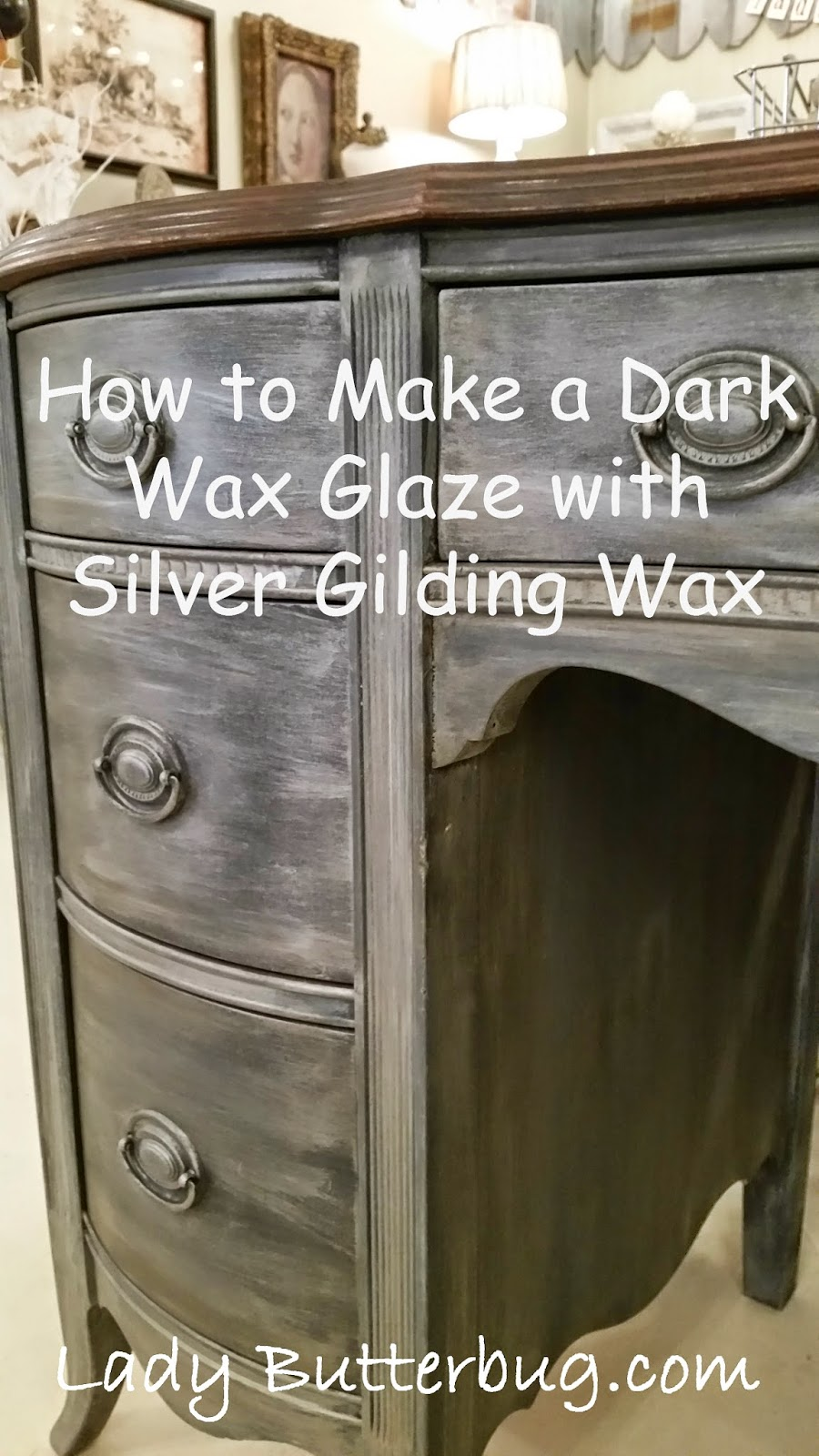 Waxing Over Annie Sloan Chalk Paint