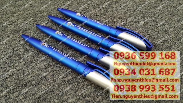 Co so san xuat but bi in logo quang cao gia rein but bi quang cao tai HCM Xuong in but bi qua tang