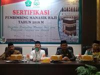 Dibuka Dirjen PHU, 100 Peserta ikuti Sertifikasi Pembimbing Manasik Haji