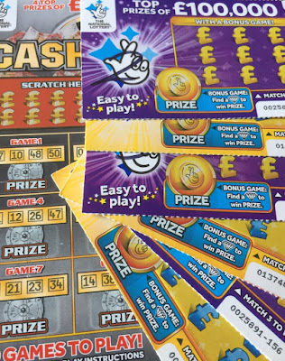 £1 Purple Scratch Card
