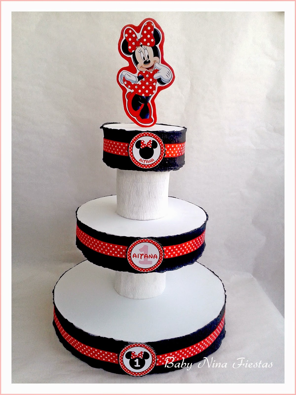 Stand cupcakes Minnie Mouse