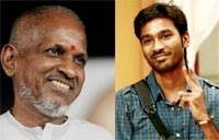 Dhanush emotions for Ilayaraaja