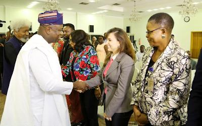 Gov. Ambode chooses Wole Soyinka, Gbadamosi as Co-Chairmen of Lagos at 50 Planning Committee