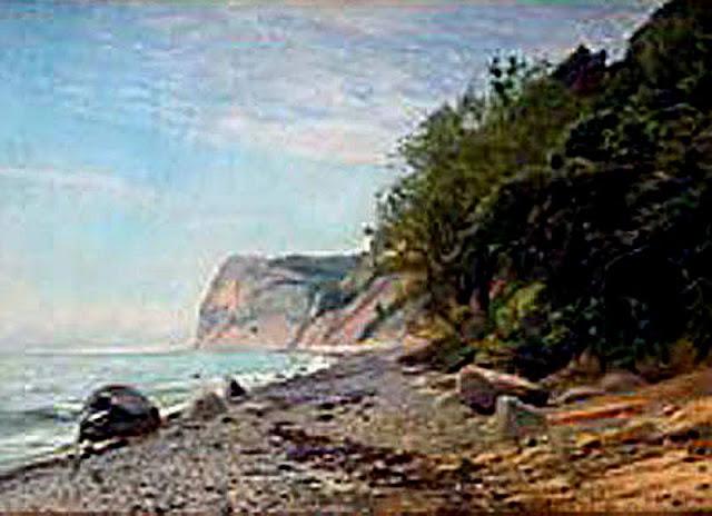 Juan Martínez Abades, Paisaje costero, Mallorca en Pintura, Mallorca pintada, Paisajes de Mallorca
