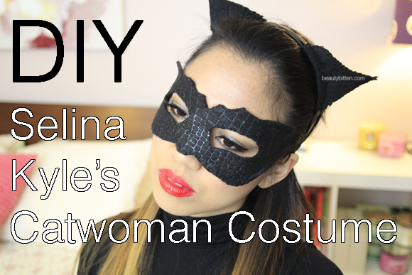 Halloween Diy Selina Kylecatwoman Costume The Dark Knight