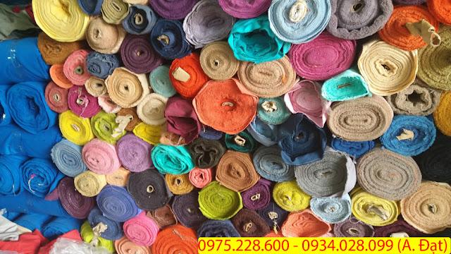 Thu mua vải tồn kho giá cao ở tại Dĩ An  - Bình Dương