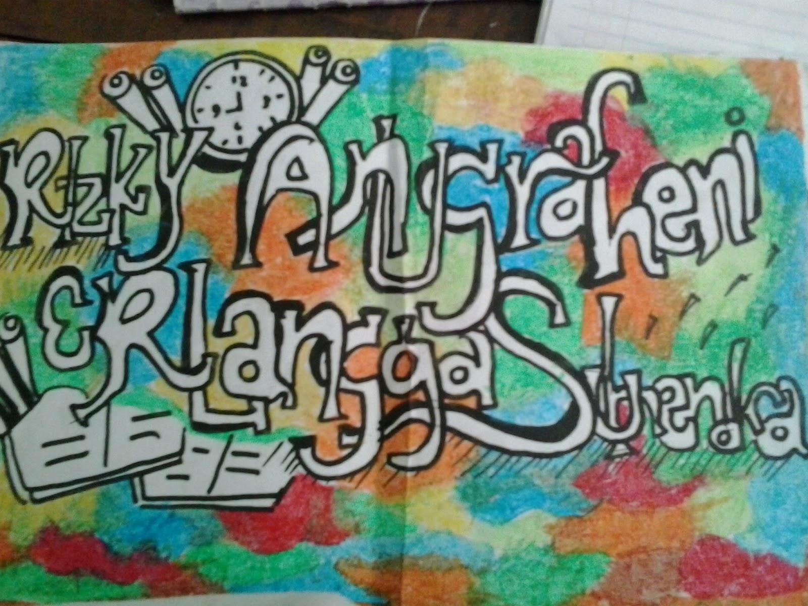 Contoh Gambar Grafiti Kartun  Sobgrafiti