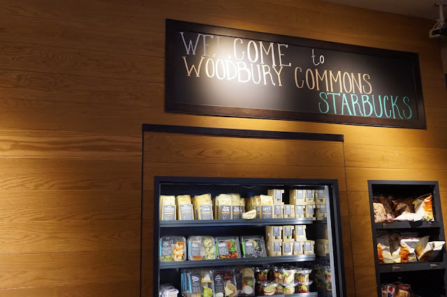 Shopping at Woodbury Common Premium Outlet New York Starbucks Wifi