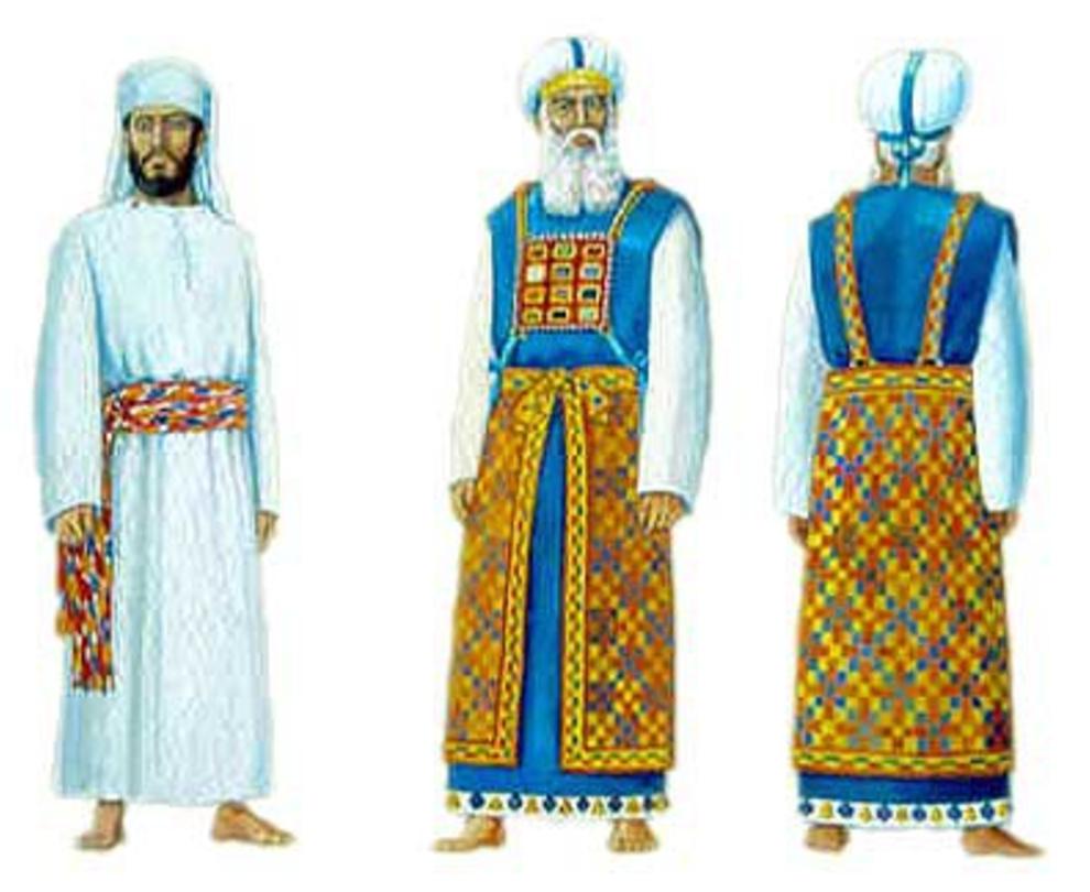 Estudio Biblia: EXODO 28  Vestiduras sacerdotales