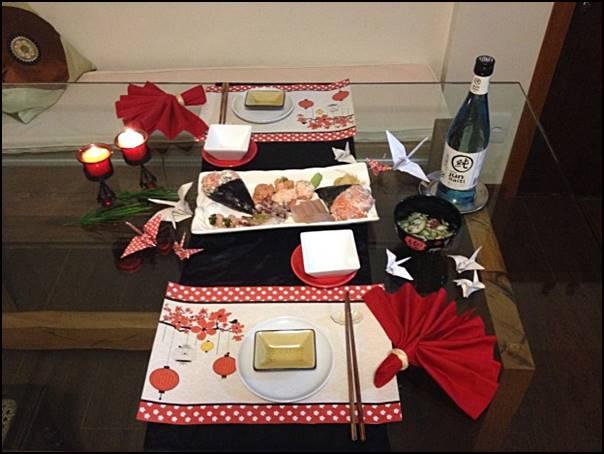 noite do sushi dia dos namorados