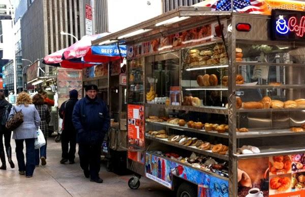 La gastronomía callejera en Nueva York