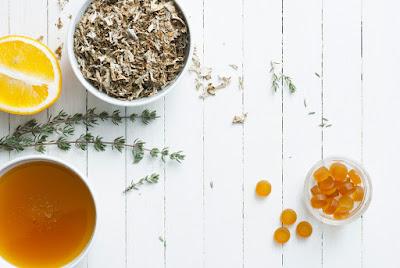 Ingredientes para preparar un té Blóðberg, un recuerdo muy sano de Islandia