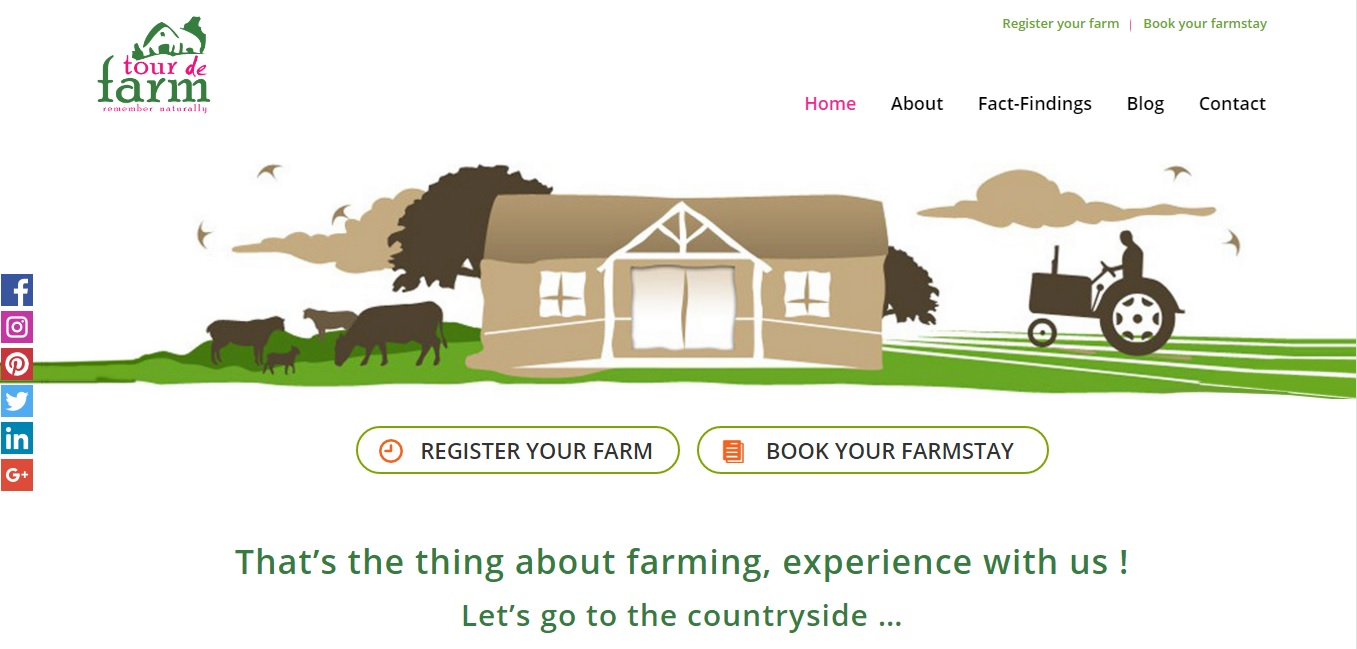 TourdeFarm - India's First Agritourism & Farmstay Portal
