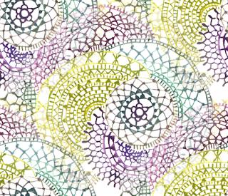 watercolour mandala wallpaper by Mimi Pinto