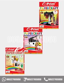 Kertas Craft Papercraft Level 1 - 3, alat tulis sekolah, 0852-2765-5050