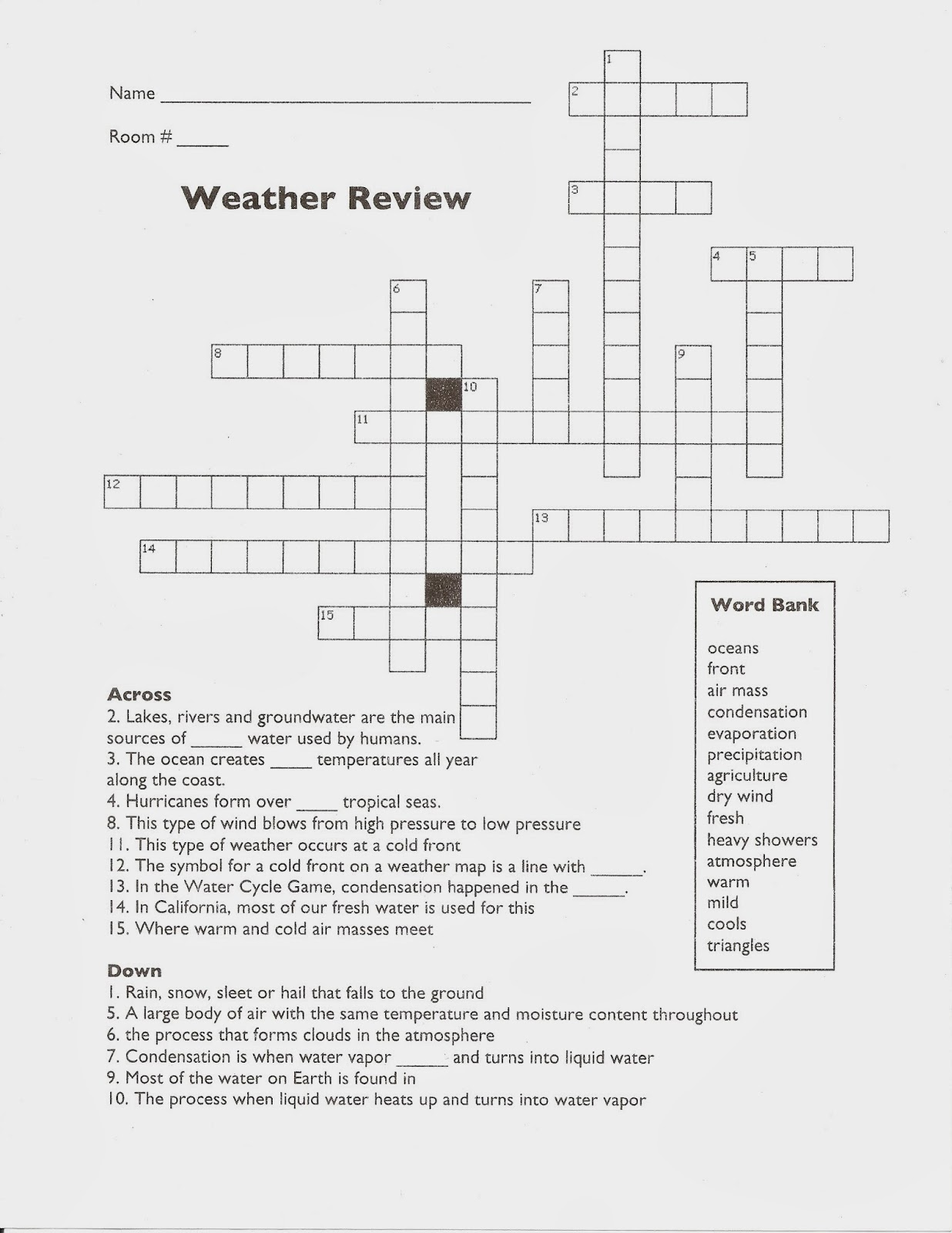 Mr Gantt S Earth Science Lab Blog 5th Grade Week 6 Weather Vs Climate In California