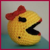 Pacman amigurumi