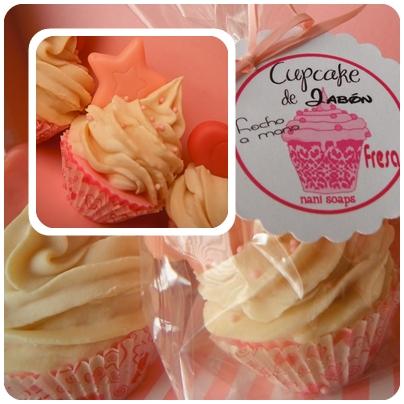 detalles invitado cupcake jabon