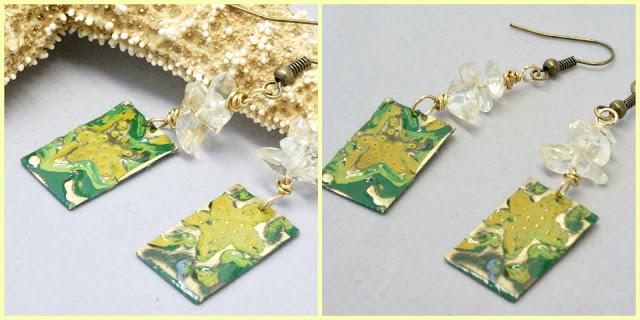 starfish earrings by BayMoonDesign