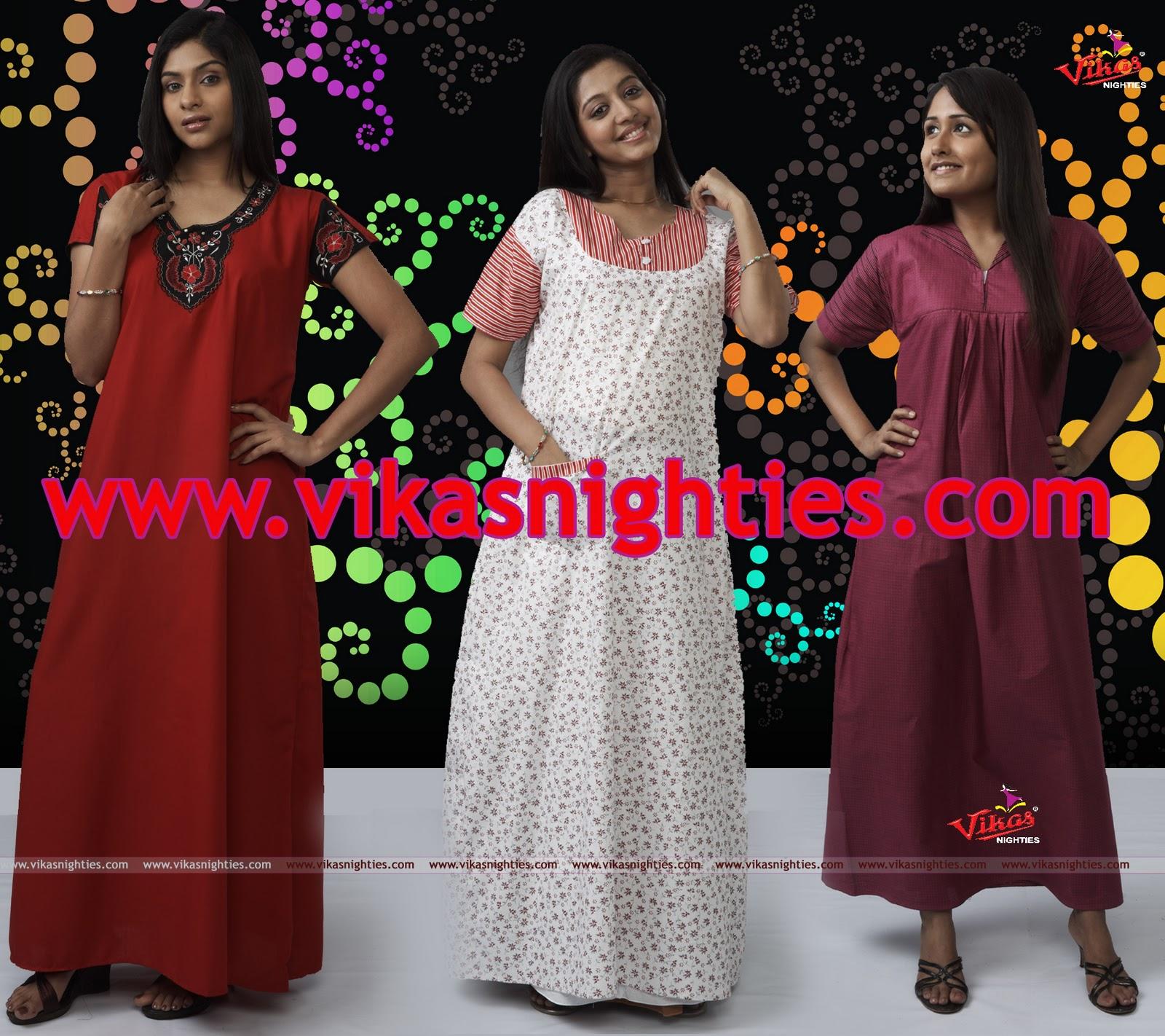 37375c4d8f vikas fashions  Vikas nighties photos