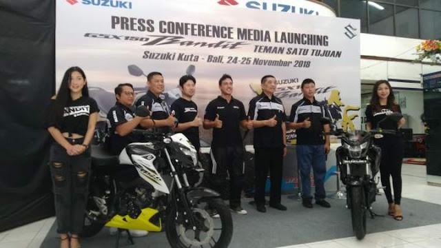 Touring Suzuki GSX150 Bandit Bali