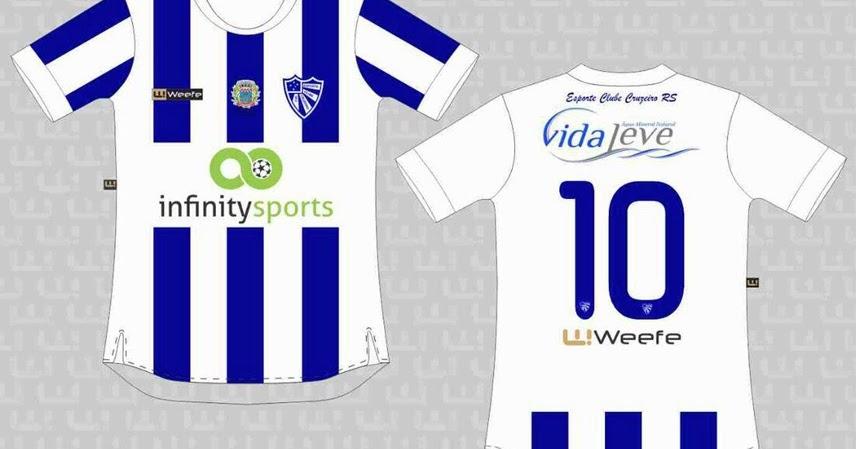 Weefe apresenta as novas camisas do Cruzeiro de Porto Alegre - Show de  Camisas 3454b55995d59