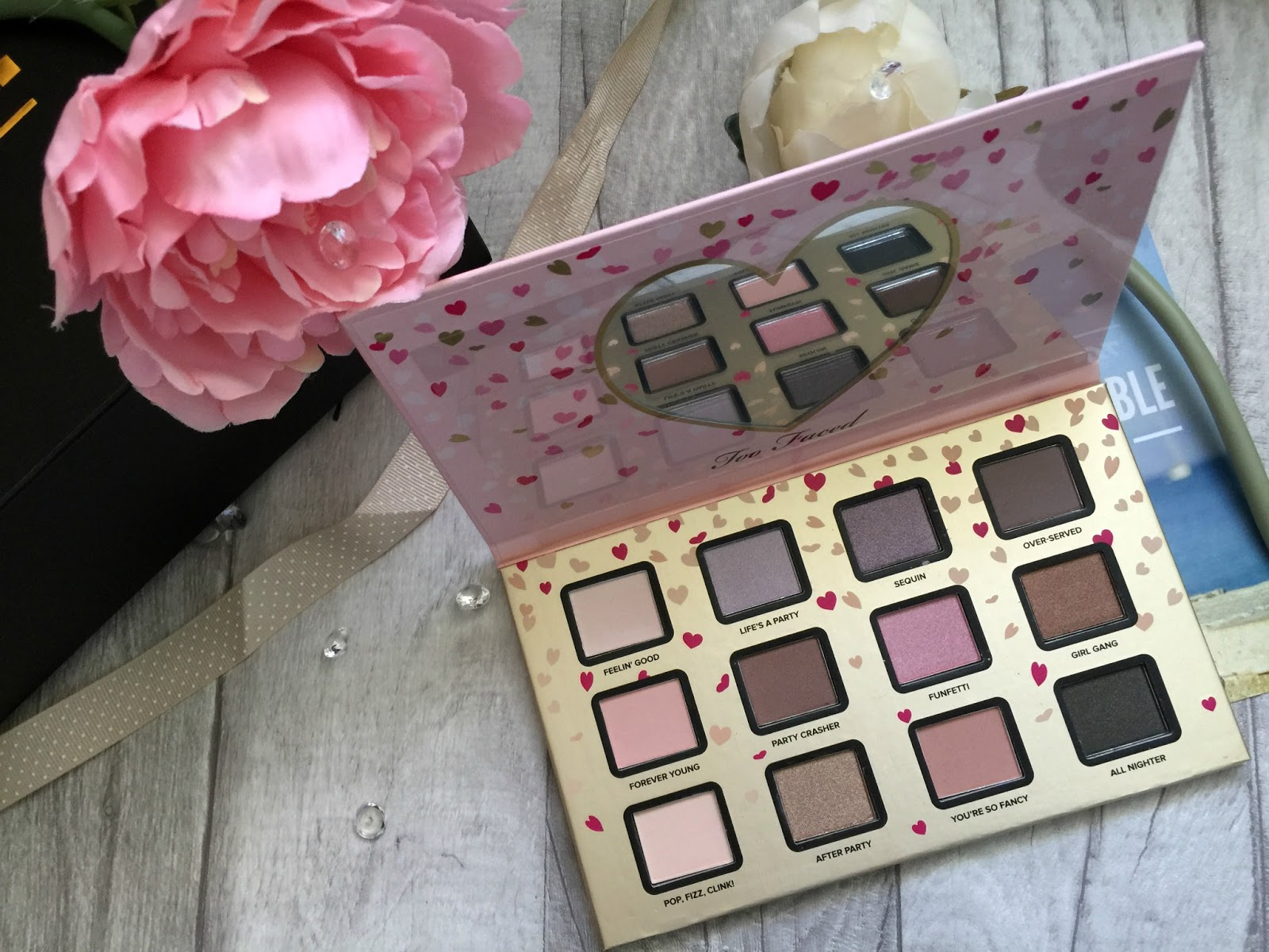 too faced funfetti eyeshadow palette