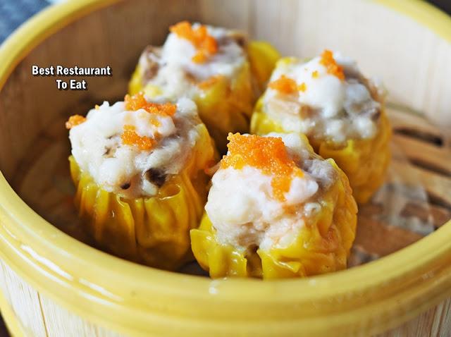 Dim Sum Buffet Menu - Siew Mai Dumpling