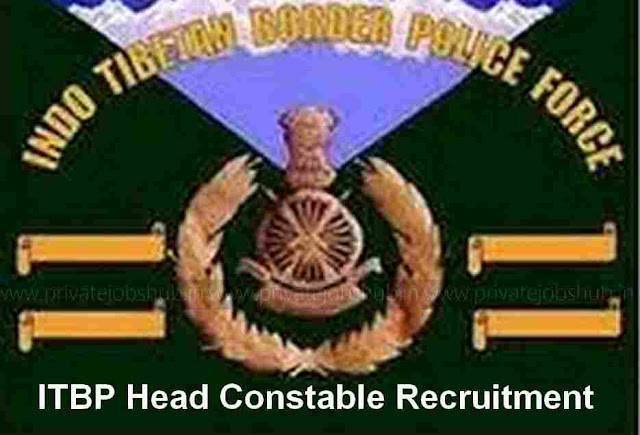 ITBP Head Constable Recruitment