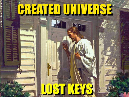 Funny Created Universe, Lost Keys Meme Picture