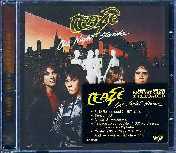TEAZE - One Night Stands [Rock Candy Remastered +1] full