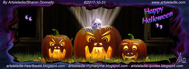 Halloween Facebook cover (2) by Artsieladie