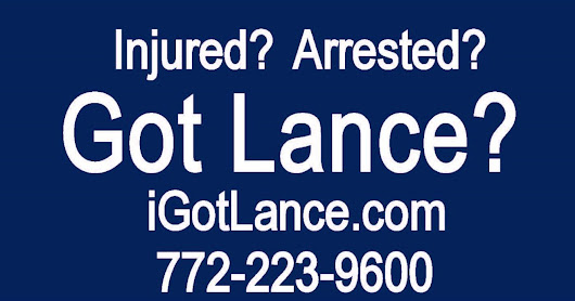 Have you been Injured? Arrested? Got Lance?
