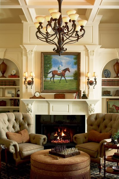 When Is It Too Cold To Paint Outside A Cozy Fireplace ~ The Focal Point Of The Room