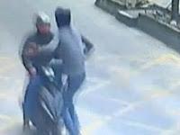 Aksi Sopir Truk Hentikan Pencuri dengan Tendangan Kung Fu