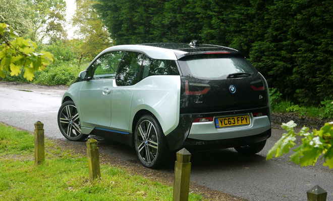BMW i3 Rex rear view