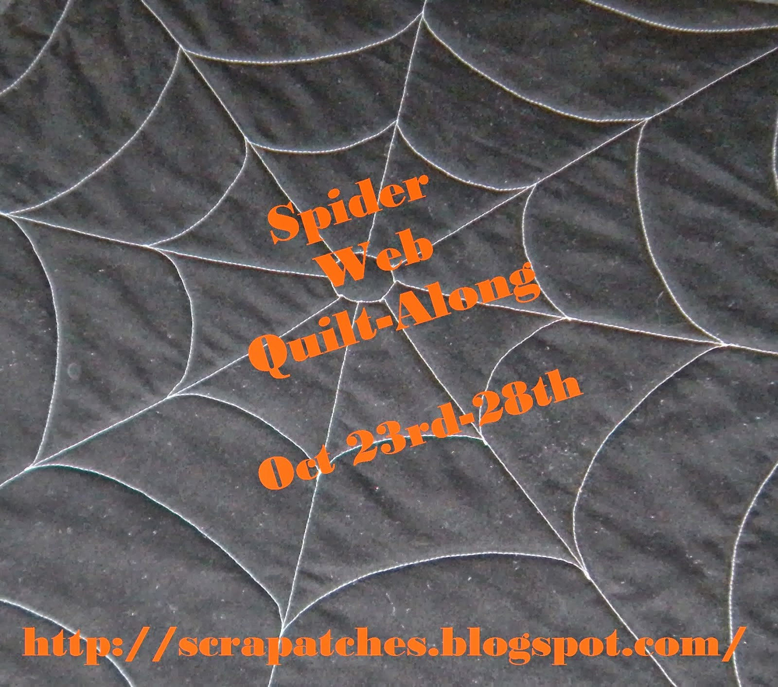 Spider Web Halloween Decorations: Life In The Scrapatch: Spider Web Quilt-Along