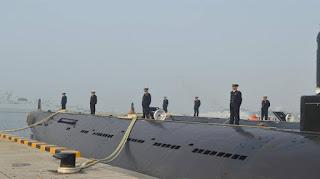 Kapal Selam Type 035G Buatan Tiongkok