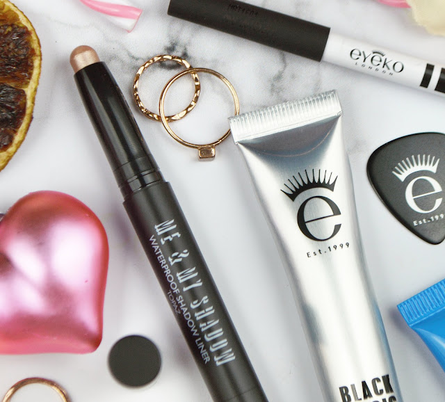 Trying Eyeko Makeup, Mascara, Eyeshadow, Eyeliner, Brow Definer for the First Time | Beauty, Lovelaughslipstick Blog