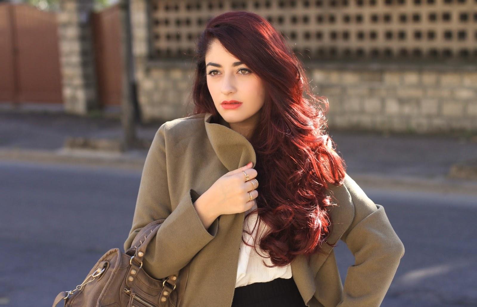 manteau drapé